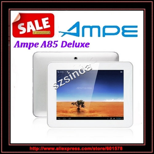 Ampe A85 Deluxe Dual Core 1G/ 8GB Rom 8 Inch Android 4.0 Dual Camera HDMI Tablet PC / Anna(Hong Kong)