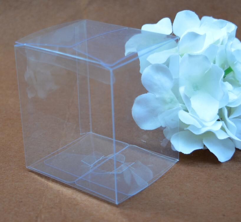 Size:16*16*16cm, clear plastic pvc box , wholesale pvc box , pvc favor boxes(China (Mainland))