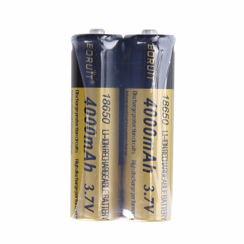 4PCS 4000mAh Rechargeable 18650 Battery for Headlamp Headlight Flashlight Latest
