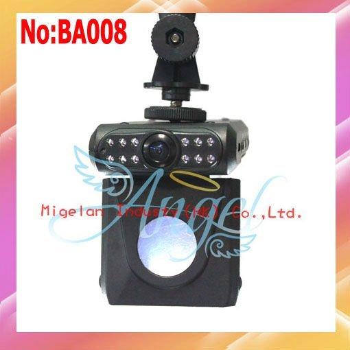 "HD 720P car dvr camera,car black box With 120 deg 2.5""TFT LCD,night vision Driving Recorder+AV OUT #BA008"
