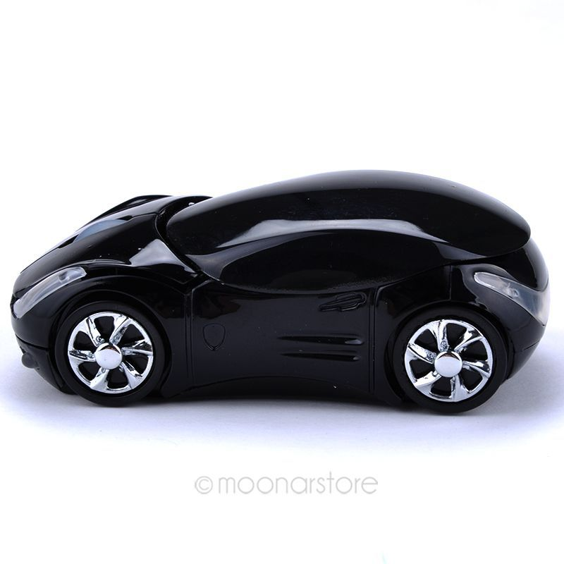2.4Ghz Optical Mouse PC Laptop Computer Accessories Wireless Mouse Fashion Super Car Shaped Mouse(China (Mainland))