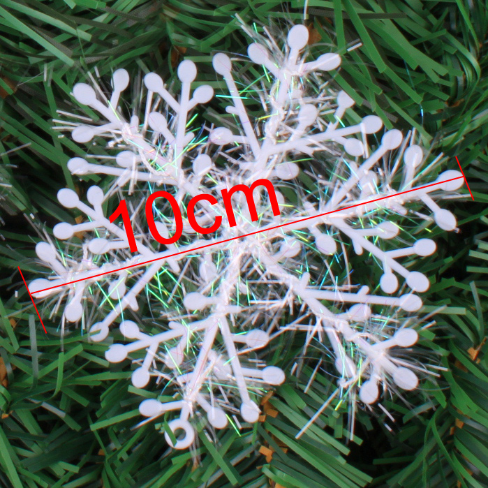 new year christmas supplies 10 cm christmas ornaments instant snow,3 Sheet 5g snow flake decoration natal Free shipping#HYD3(China (Mainland))