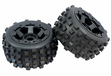 Buy 1/5 rc car gas RC Car Off-Road Knobby Rear Tire tyre nylon wheel hub Set Rovan HPI Baja 5B King Motor Buggy 1/5 for $52.00 in AliExpress store