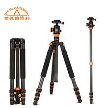 Nueva SL-498CProfessional portátil trípode de fibra de carbono + con la bolsa trípode para Canon Eos Nikon Sony OLYMPUS DSLR SLR de la cámara
