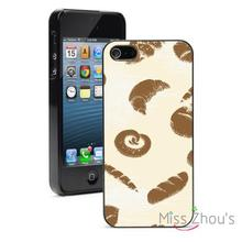 Bakery Bread Protector back skins mobile cellphone cases for iphone 4/4s 5/5s 5c SE 6/6s plus ipod touch 4/5/6