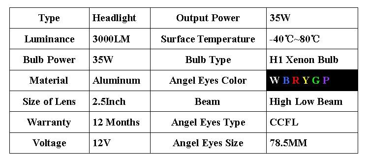 ccfl angel eyes headlight