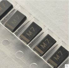 100pcs SMD 1N4007 Rectifier Diode 1A 1000V M7