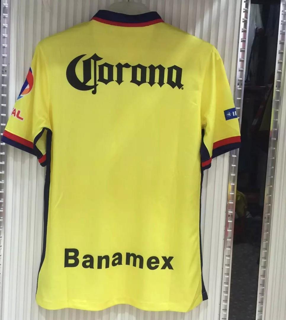 club america jersey 2016 Sambueza M.LAYUN MICKY D.BENEDEDDO club america home jersey club america mexico soccer(China (Mainland))