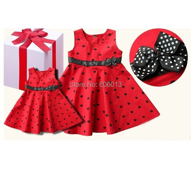 in stock now Red dress, baby and Kids clothing,Overrun Dress, Wholesale baby and kids clohitng