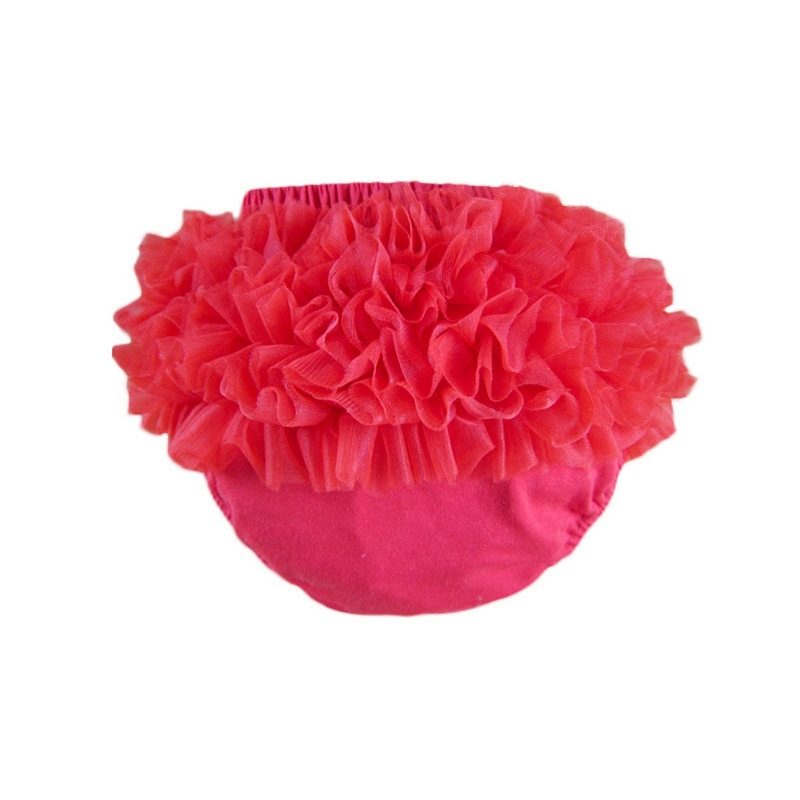 Baby Cotton Bloomers 9 Colors Cute Baby Pants Tutu Design Infant Ruffle Short