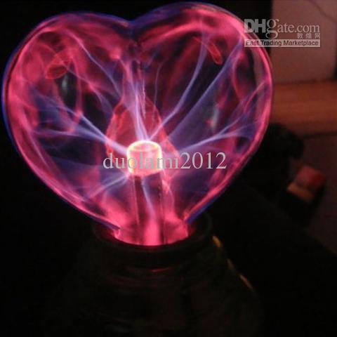Plasma USB Light Sphere Heart Lover Party Gift