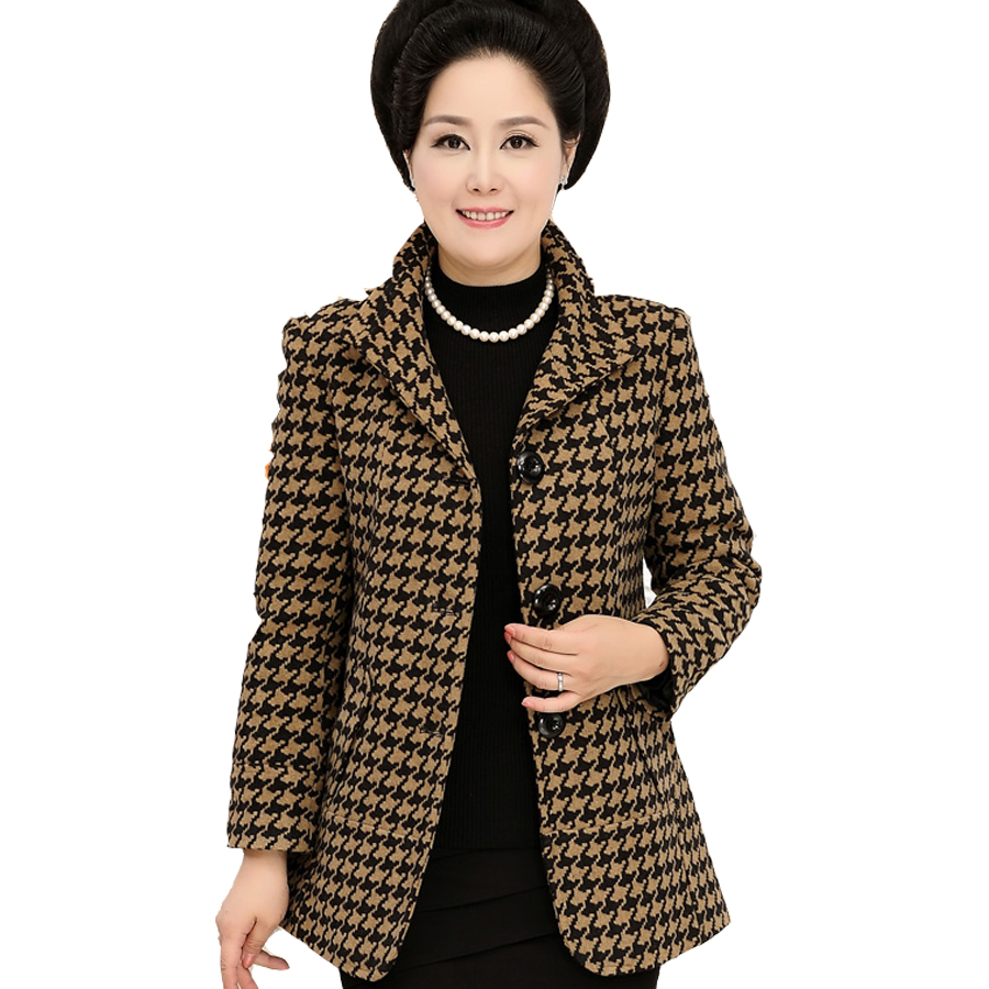 Women Ladies Winter Autumn Coat Full Sleeve Turn-down Collar Thick Button High Quality Single Breasted Warm Solid Jacket Loose Одежда и ак�е��уары<br><br><br>Aliexpress