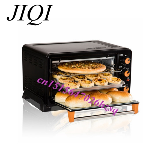 Household Electric Oven Multifunction Baking Cakes Pizza Chickens Rotating spit High capacity Thicken(China (Mainland))