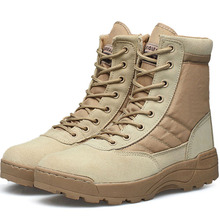 Esdy Desert Tactical Military Boots Combat Boots Men Shoes Work Outdoor Climbing Men SWAT Army Boot Militares tacticos zapatos(China (Mainland))