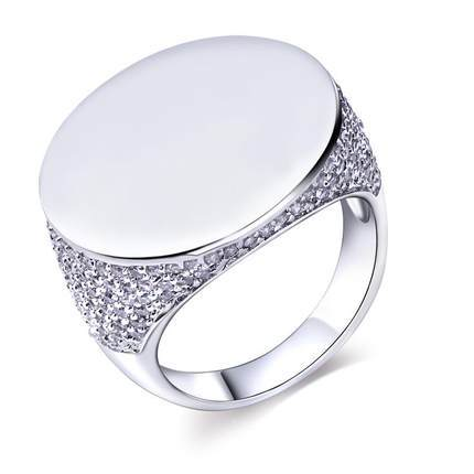 Mansaku brand rings for women Platinum Plated Cubic Zirconia Pave Setting Lead Free rings jewellery Color stone(China (Mainland))