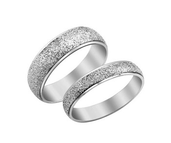 Fashion lover's gift  body jewellry Couple Stainless steel key dull polish rings Free Shipping  new arrival 017