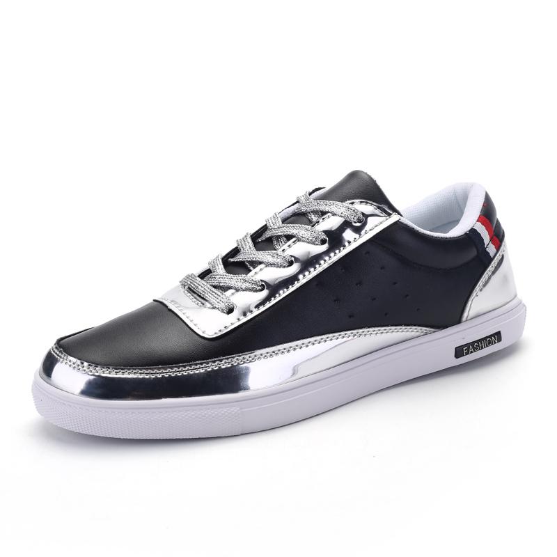 2017 Men Sneakers Skateboard Rubber Sole Men Skateboard Shoe New Trend Male Sport Sneaker Black Skate Board Shoes(China (Mainland))