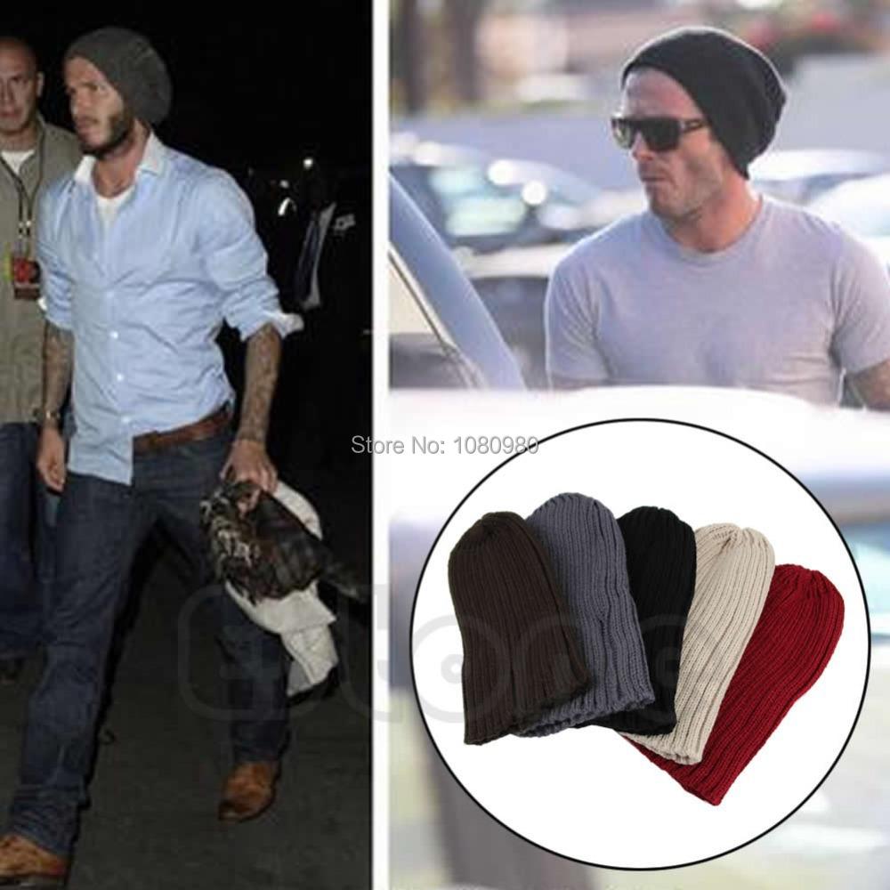 1PC Stylish Unisex Men Hip Hop Warm Winter Wool Knit Ski Beanie Skull Cap Hat
