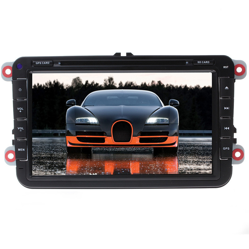 Universal Android 4 2 8 Car DVD player GPS Wifi Bluetooth Radio CPU HD Stereo Touch