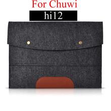 8'' 10'' 12'' Wool Felt Buckle Tablet Laptop Coque Cover Case for Chuwi vi10 hi10 hi12 hi8 hi8 Pro vi8 Portable Cover