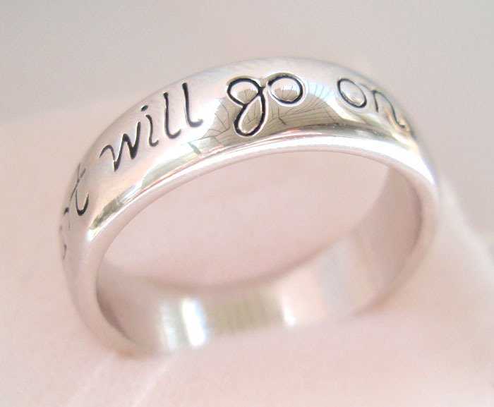 Wedding ring. Free shipping. Provide tracking. My heart will go on 18K GP White Gold Wedding Ring.(China (Mainland))