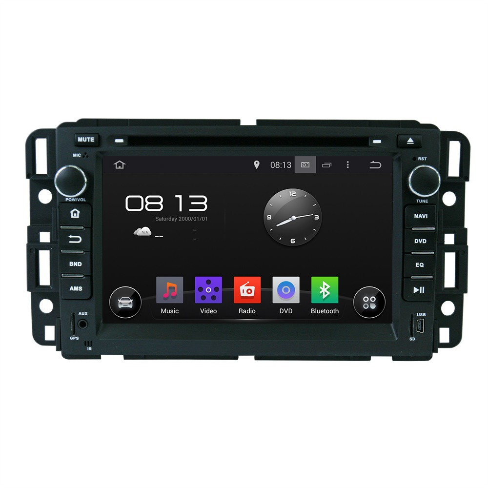 1024*600 Quad Core Android 5.1.1 Car DVD Player Radio GPS Stereo for GMC Yukon Savana Sierra Tahoe Acadia Denali Chevrolet Chevy(China (Mainland))
