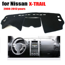 Car dashboard pad For Nissan X-Trail 2008-2013 Instrument platform desk pad(China (Mainland))