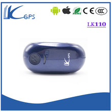 Portable cheapest mini GPS tracker LK110 with collar for pet waterproof free web location and APP support sms/app/software(China (Mainland))