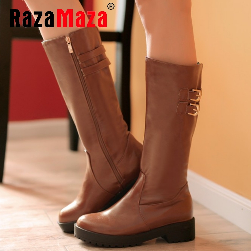 CooLcept Free shipping over knee high heel boots women snow fashion winter warm shoes boot P15238 EUR size 34-39<br><br>Aliexpress