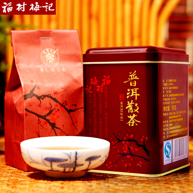 Fuji Puer loose tea Pu er cooked tea cellaring Puer blooming tea<br><br>Aliexpress