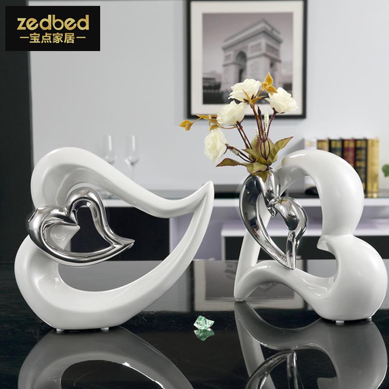 온라인 구매 도매 장식 현대 세라믹 꽃병 중국에서 장식 현대 ...