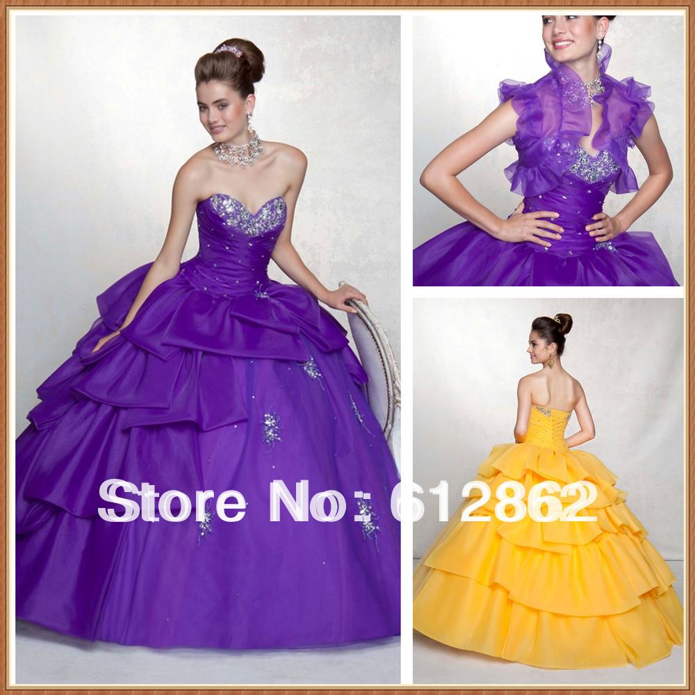 Goddess lila Hochzeitskleid  Fotos