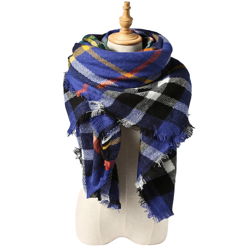 Free Shipping Scarf Lovely Best Gift Wrap Za Famous Brand Cashmere Shawl 2016 New Design Winter
