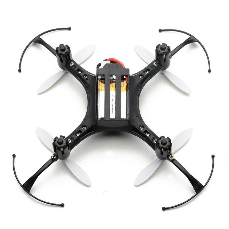 Mini Aircraft Vehicle Toys Automatic Return Headless Mode Quadrocopter H8 2.4G 4CH 6 Axis Nano Quadcopter Drone RTF Mode 2