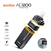 Buy 2017 New GODOX AD200 Pocket Flash Light TTL 2.4G HSS 1/8000s Double Light Head 200Ws 2.4G Wireless X System Canon Nikon Sony for $329.00 in AliExpress store