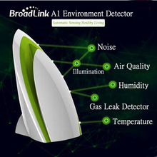 Broadlink A1,Smart Home Sensor,Temperature Humidity Air Quality Light Gas Sound Sensor,Wireless Wifi Remote Control RM PRO