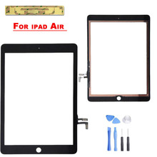 Replacement for Apple iPad 5 iPad air Touch Screen Digitizer Panel White + Adhesive & Tools Free Shipping(China (Mainland))