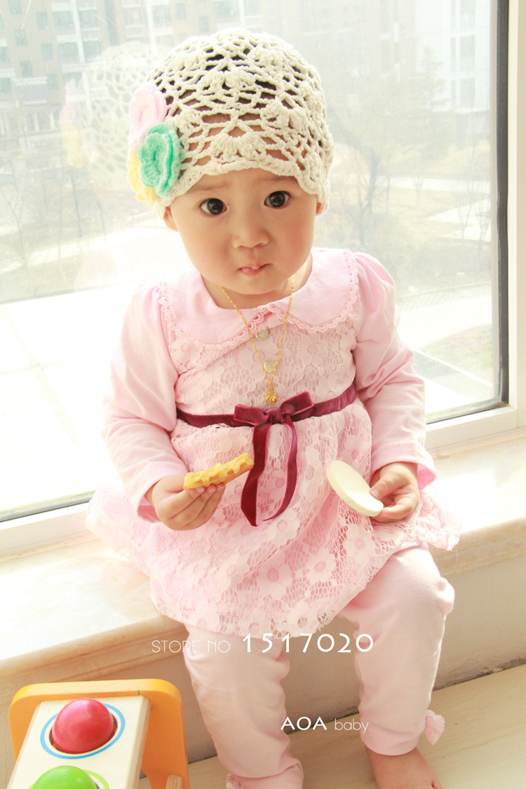 Hot 2016 new spring infant girls set 2pcs shirt+pants baby clothing set cloth suit outer wear baby set for 0~2y(China (Mainland))