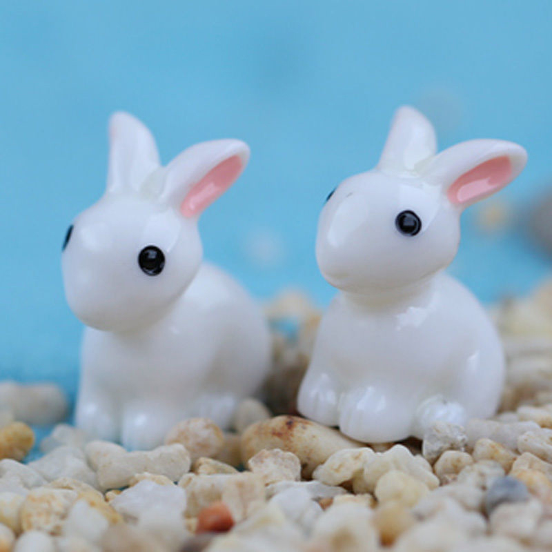 Online buy wholesale resin rabbit figurines from china for Figurine decoration jardin