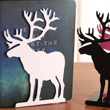 2pcs Big Elk Book Ends