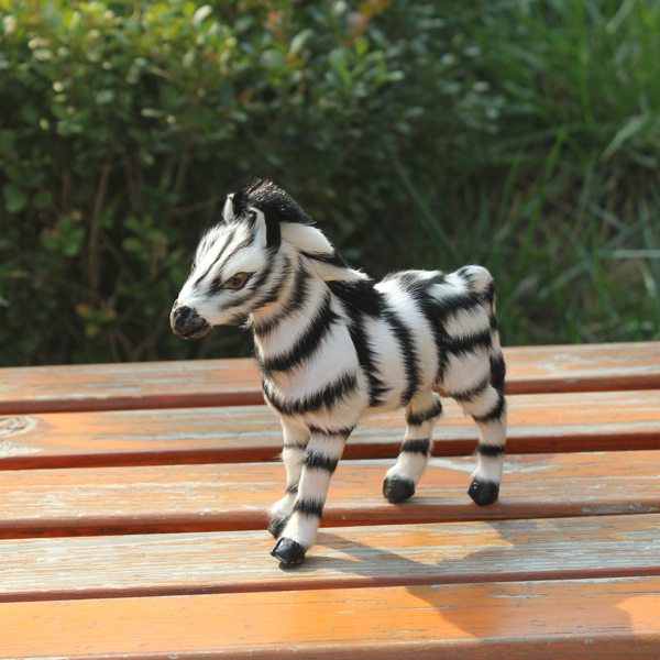 new design best selling artifical horse zebra toy for garden decoration(China (Mainland))