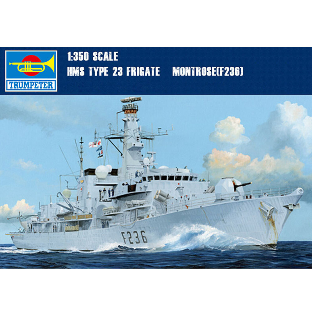 1x Trumpeter F-236 23 HMS Montrose Frigate Ship Model Kit Scale 1/350<br><br>Aliexpress