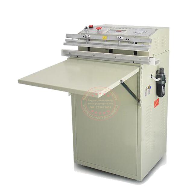VS600 Extenrior package bag vacuum shrinking sealing machine air flush sealer tools equipment for packaging saving food 8mm seal