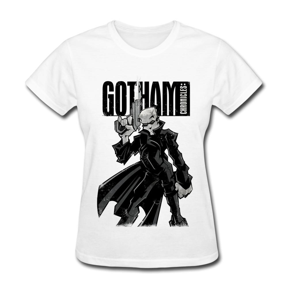 2014 fashion solid t shirt women gotham chronicles og for Custom fashion t shirts