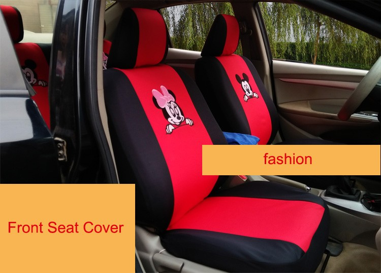 10pcs Car Seat Covers Car Styling car covers seat cover Auto accessories Car Seat Cover Sandwich mesh cloth 2016(China (Mainland))
