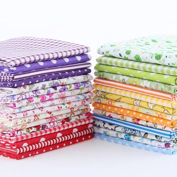 Color random delivery Cotton Fabric Charm Packs Patchwork Fabric Quilting Tilda No Repeat Design Tissue 30 pcs/lot 10*12 CM