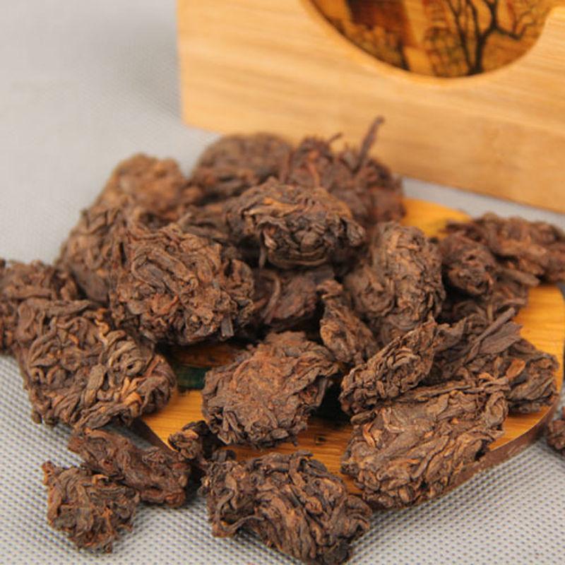 2005 Menghai Aged Golden Bud Lao Cha Tou Old Tea Nubs Ripe Nugget Puer Tea Ripe Puer puerh Puer pu erh Tea<br><br>Aliexpress