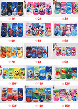 Wholesale Free shipping 12 pairs high quality  cotton cartoon children socks girls kid at factory prices cartoon socks(China (Mainland))