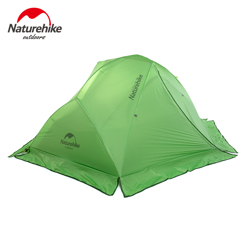 NatureHike Super Light Outdoor Tent Camping Tent 2 Persons Double Layer Rain 20D Silicon Coating Tents with snow skirt(China (Mainland))