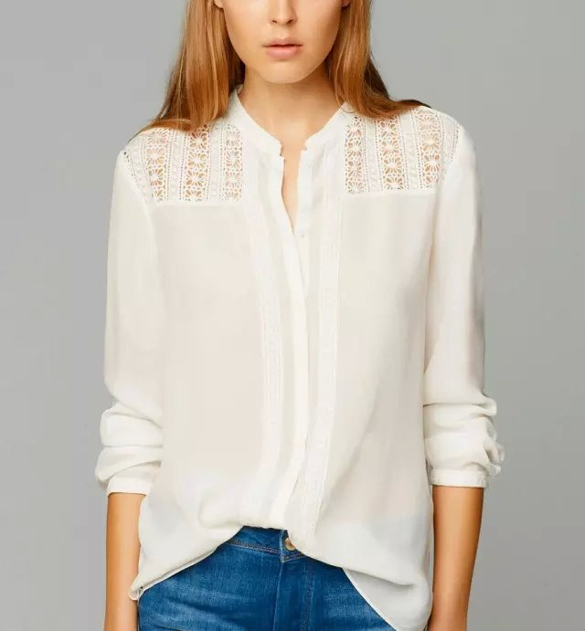 Collection White Blouses Pictures - Reikian